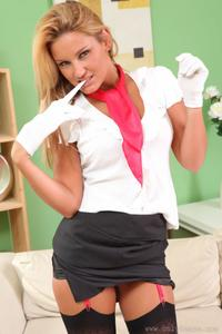 Stripping Stewardess Sam Faiers